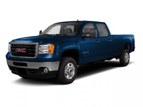2010 GMC Sierra 2500HD SLE Midnight Blue Metallic V8 60L Automatic 60597 miles SLE trim Satel