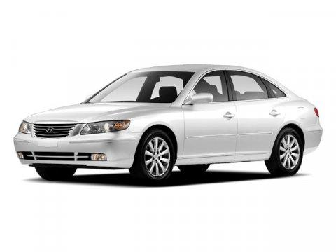 2010 Hyundai Azera Limited Porcelain White PearlBrown V6 38L Automatic 52540 miles Azera Limit