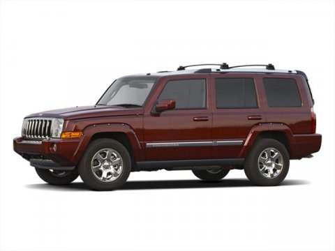 2010 Jeep Commander Limited Stone White V8 57L Automatic 46436 miles HEMI 57L V8 Multi Displa