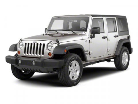 2010 Jeep Wrangler Unlimited Sport Stone White V6 38L  79884 miles  Four Wheel Drive  Tow Hoo