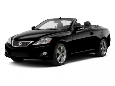 2010 Lexus IS 250 Convertible RWD Starfire PearlBlack V6 25L Automatic 5808 miles LOCAL TRADE