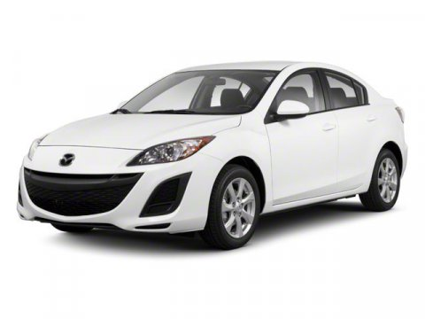 2010 Mazda Mazda3 i WhiteBlack V4 20L 5-Speed 94071 miles ONE OWNER ACCIDENT FREE CARF