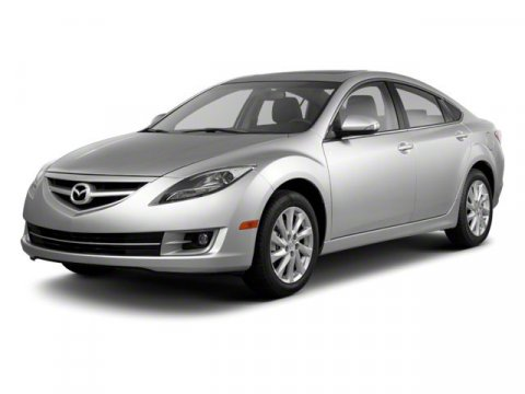 2010 Mazda Mazda6 i MaroonBeige V4 25L  74000 miles Controls are as clear as day Controls are