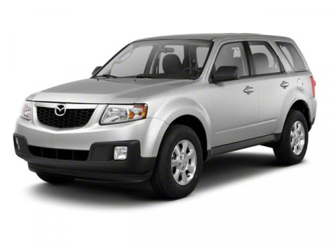 2010 Mazda Tribute Sport Monterey Gray V4 25L Automatic 66286 miles  Front Wheel Drive  Powe