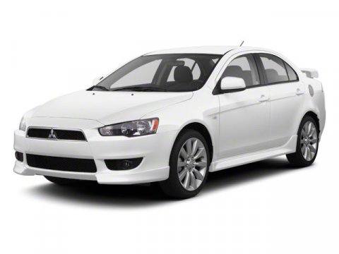 2010 Mitsubishi Lancer DE Wicked White Metallic V4 20L Variable 64312 miles  Front Wheel Drive