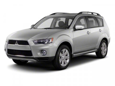 2010 Mitsubishi Outlander SE Labrador Black Pearl V4 24L Variable 55001 miles  Four Wheel Driv
