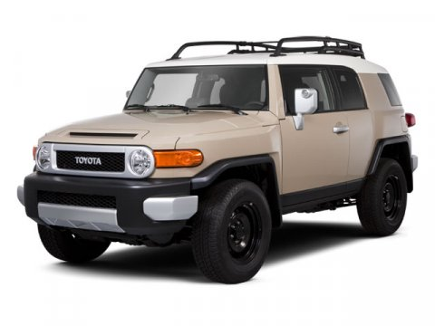 2010 Toyota FJ Cruiser Base Army Green V6 40L  40537 miles  LockingLimited Slip Differential