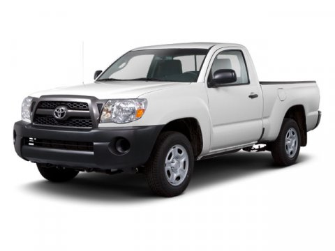 2010 Toyota Tacoma REG CAB 2WD Super White V4 27L Manual 67630 miles Win a score on this 2010