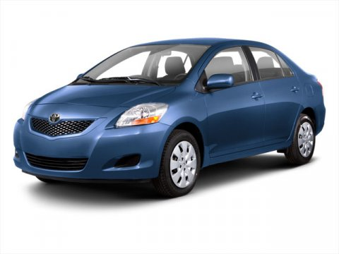 2010 Toyota Yaris Blue V4 15L Automatic 75800 miles MANAGER SPECIAL ONE OWNER and CERTIFIED