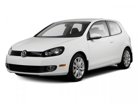 2010 Volkswagen Golf C Candy WhiteTITAN BLACK V5 25L Manual 12605 miles  Front Wheel Drive  P