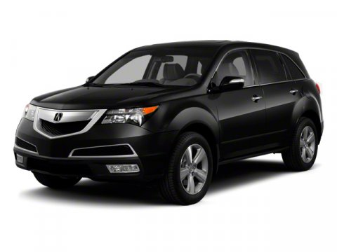 2011 Acura MDX Tech Pkg Crystal Black Pearl V6 37L Automatic 62837 miles  All Wheel Drive  P