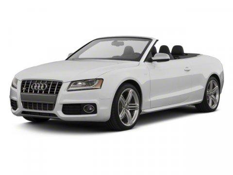 2011 Audi S5 30L Premium Plus Convertible Qu Brilliant BlackBlack  Gray V6 30L Automatic 4251