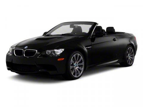 2011 BMW M3 2DR CONV Jerez Black Metallic V8 40  51471 miles   Stock T38400A VIN WBSDX9C