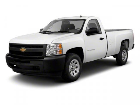 2011 Chevrolet Silverado 1500 Work Truck Summit White V6 43L Automatic 32089 miles  Rear Wheel