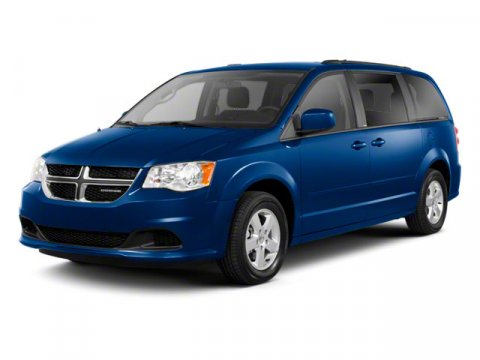 2011 Dodge Grand Caravan Crew Bright Silver MetallicBlackLight Graystone Interior V6 36L Automa