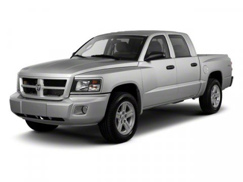 2011 Ram Dakota Crew Cab Lonestar Brilliant Black Crystal PearlGray V6 37L Automatic 75493 mile