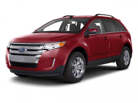 2011 Ford Edge SEL Burgundy V6 35L Automatic 48081 miles  All Wheel Drive  Power Steering  T