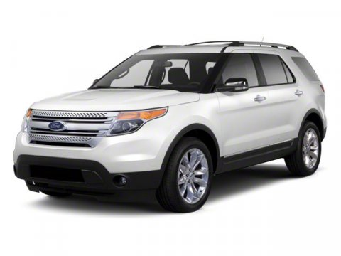 2011 Ford Explorer XLT 4X4 White SuedeCharcoal Black V6 35L Automatic 24812 miles ONE OWNER AB