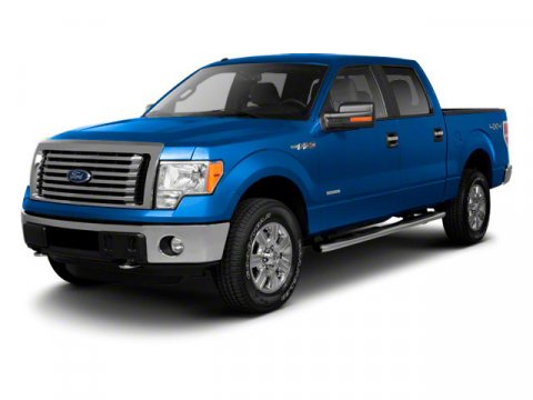 2011 Ford F-150 Blue V8 50 Automatic 0 miles 50L V8 FFV and 4WD Flex Fuel Crew Cab Here at