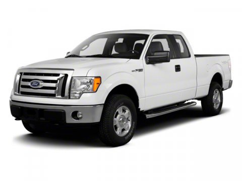 2011 Ford F-150 XL Black V8 50 Automatic 0 miles 50L V8 FFV and 4WD Flex Fuel Extended Cab