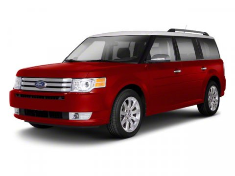 2011 Ford Flex SE Red V6 35L Automatic 63262 miles Red Hot Dont let the miles fool you If y