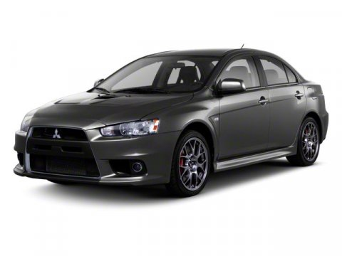 2011 Mitsubishi Lancer Evolution GSR White V4 20L Manual 77055 miles  Turbocharged  Locking