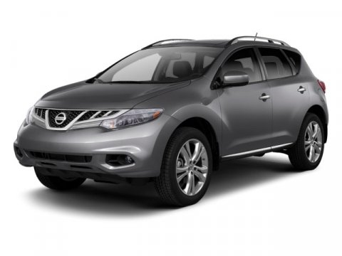 2011 Nissan Murano S Super Black V6 35L Variable 25584 miles  All Wheel Drive  Tow Hooks  Po