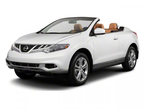 2011 Nissan Murano CrossCabriolet AWD 2DR CONVERTIB Super Black V6 35L Variable 27021 miles T