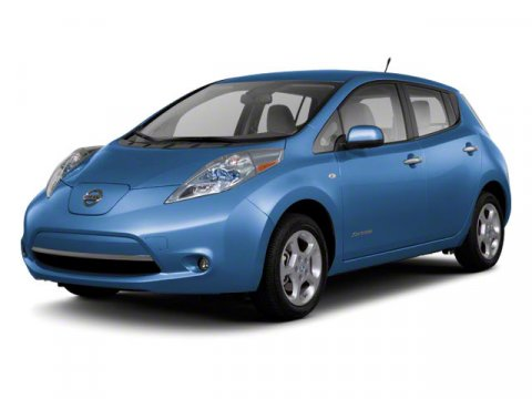 2011 Nissan LEAF SL SilverTan V  Automatic 41537 miles  Electric Motor  Keyless Start  Front