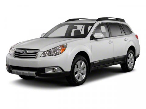 2011 Subaru Outback 25i Ruby Red Pearl V4 25L Variable 61320 miles AWD and Rear Spoiler Spot