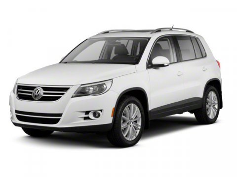 2011 Volkswagen Tiguan SE White Gold Metallic V4 20L Automatic 63055 miles  Turbocharged  Tra