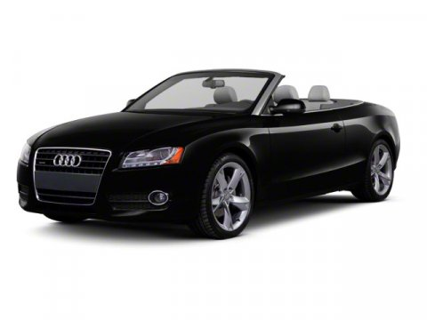 2012 Audi A5 20T Premium Convertible Quattro Monsoon Gray MetallicBlack V4 20L Automatic 43812