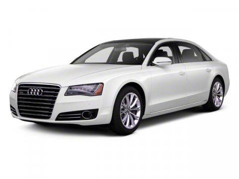 2012 Audi A8 L 42L Premium Quattro Ice Silver MetallicBlack V8 42L Automatic 21478 miles ELEG