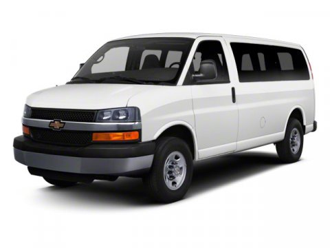 2012 Chevrolet Express Passenger 1LT Summit White V8 60L Automatic 39857 miles Express Van G25