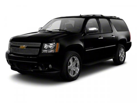 2012 Chevrolet Suburban LT Black V8 53L Automatic 51218 miles  308 Rear Axle Ratio  Heavy-Du