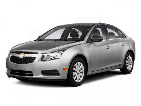 2012 Chevrolet Cruze LT w1LT Silver Ice Metallic V4 14L Automatic 48749 miles Sleek Stylish