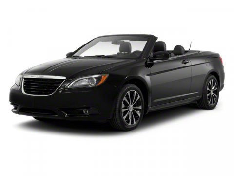 2012 Chrysler 200 Touring Convertible BlackBlack V4 24L Automatic 33445 miles ABSOLUTELY PERFE