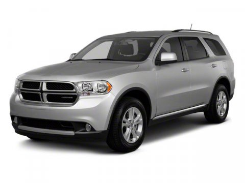2012 Dodge Durango SXT Gray V6 36L Automatic 86271 miles  All Wheel Drive  Power Steering