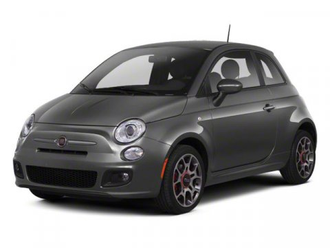 2012 FIAT 500 Pop Nero BlackBLACK V4 14L Manual 34860 miles  Front Wheel Drive  Power Steer