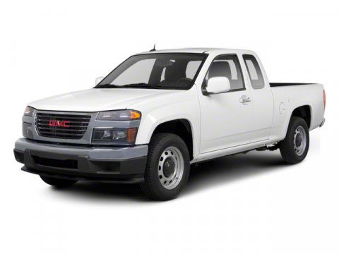 2012 GMC Canyon Work Truck Red V4 29L Automatic 36686 miles  Rear Wheel Drive  Power Steering