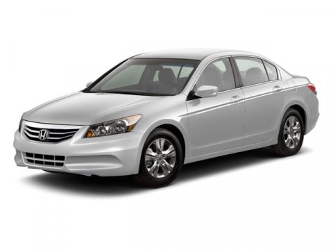 2012 Honda Accord Sdn SE Crystal Black PearlGray V4 24L Automatic 36457 miles  Leather-wrappe