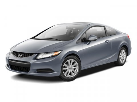 2012 Honda Civic EX Coupe FWD Polished Metal MetallicGray V4 18L Automatic 3648 miles One Own