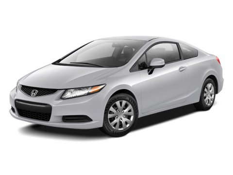 2012 Honda Civic LX Coupe FWD Alabaster Silver MetallicGray V4 18L Automatic 32546 miles All