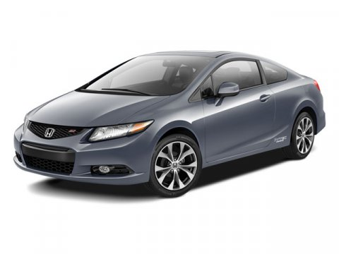 2012 Honda Civic Si Coupe Alabaster Silver MetallicBlack V4 24L Manual 36031 miles CLEAN CARFA