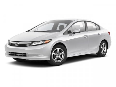 2012 Honda Civic GX Natural Gas Polished Metal Metallic V4 18L Automatic 78541 miles Local Us
