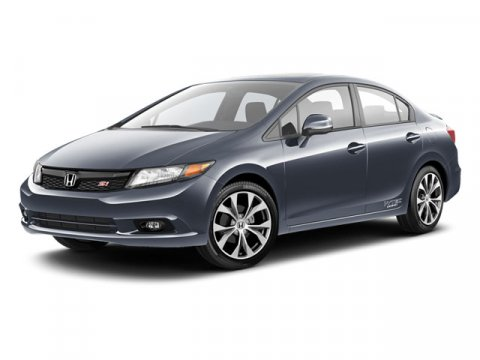 2012 Honda Civic Sdn Si Crystal Black Pearl V4 24L Manual 19448 miles  LockingLimited Slip Di