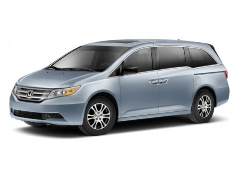2012 Honda Odyssey EX-L Smoky Topaz MetallicBLACK V6 35L Automatic 58061 miles Dont let the m