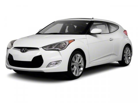 2012 Hyundai Veloster BASE White V4 16L Automatic 39056 miles  Front Wheel Drive  Power Stee