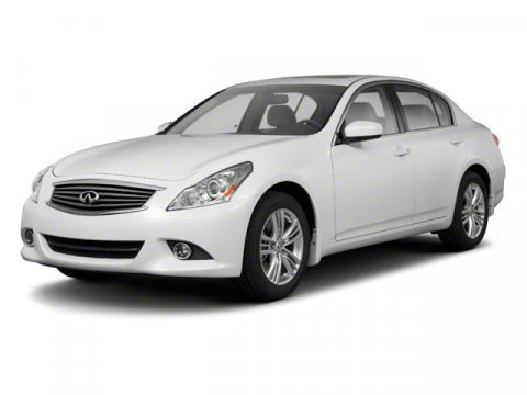 2012 Infiniti G25 Sedan x AWD Moonlight WhiteGraphite V6 25L Automatic 46121 miles ALL WHEEL