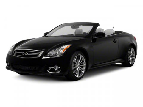 2012 Infiniti G37 Convertible Base Graphite ShadowPRMNAVTIR V6 37L Automatic 0 miles The G c
